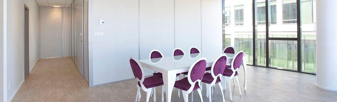 Nos solutions - Cloisons amovibles, faux-plafonds et aménagement de bureaux professionnels