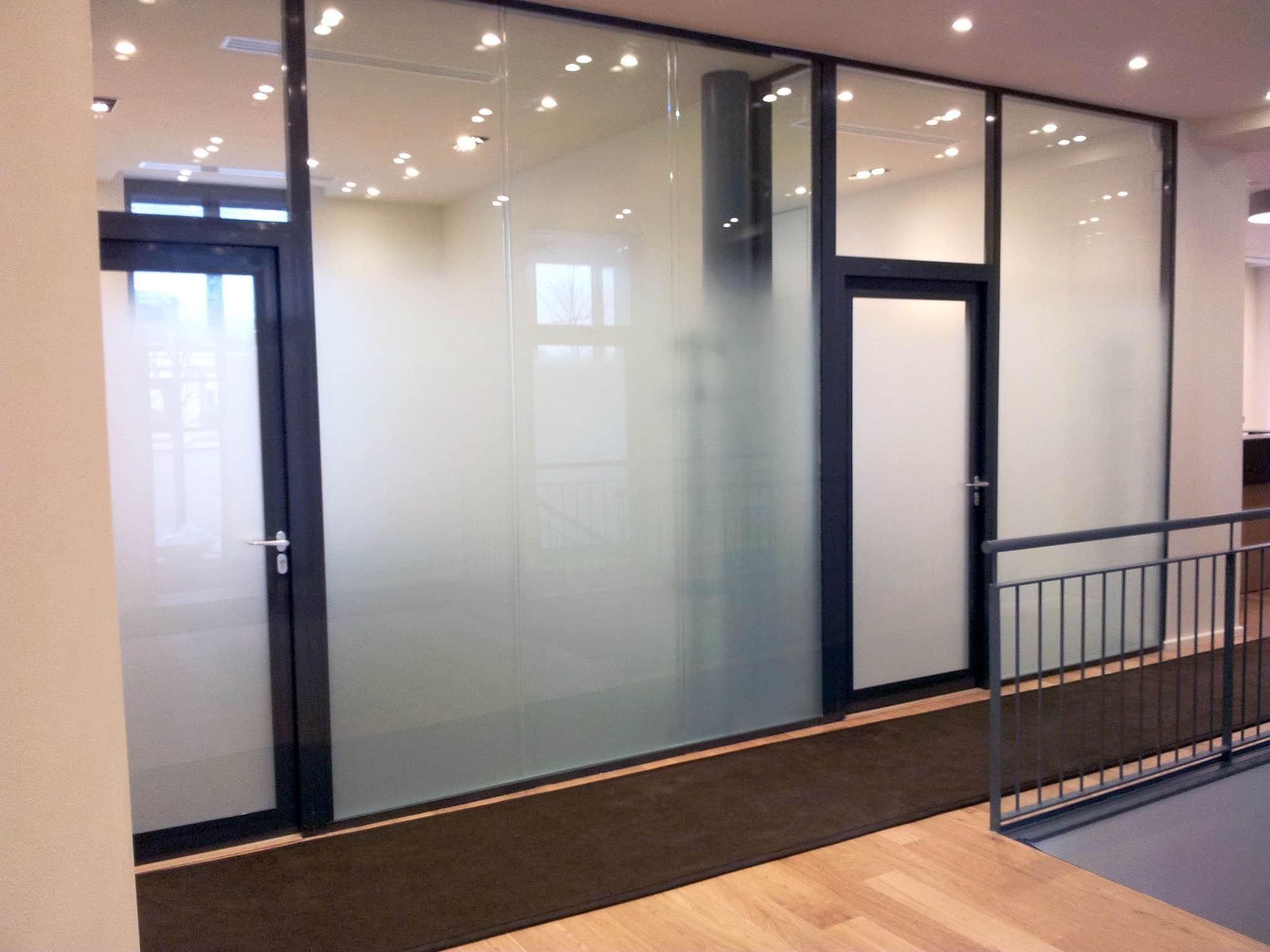 Cloison vitree interieure verrire duintrieur avec - Cloison vitree interieure ...